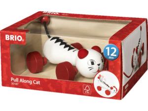 BRIO Nachzieh-Katze Nachziehspielzeug
