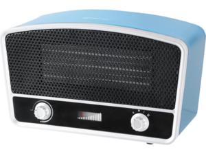 EMERIO FH-110676.2 Radioman Miami Blue Heizlüfter Blau/Silber