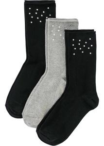 Socken mit Nieten (3er Pack)