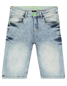 Jungen Jeansshorts im Washed-Out Look
