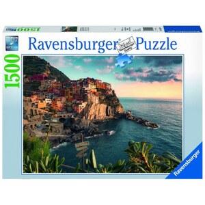 Ravensburger Puzzle: Blick auf Cinque Terre, 1500 Teile