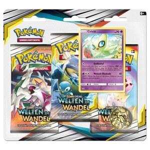 Pokémon SM12 Welten im Wandel,  3er-Pack, sortiert