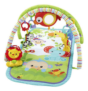 Fisher-Price Rainforest-Freunde 3-in-1 Spieldecke