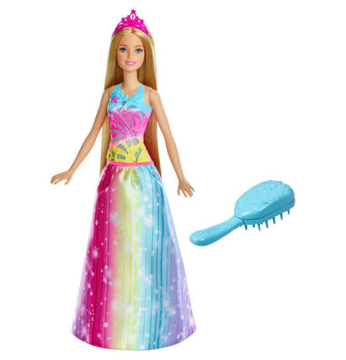 Bild 1 von Barbie Dreamtopia Regenbogen-Königreich Magische Haarspiel-Prinzessin (blond)