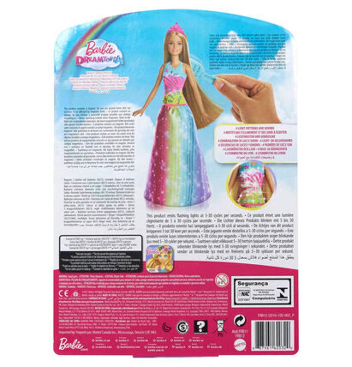 Bild 3 von Barbie Dreamtopia Regenbogen-Königreich Magische Haarspiel-Prinzessin (blond)