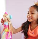 Bild 4 von Barbie Dreamtopia Regenbogen-Königreich Magische Haarspiel-Prinzessin (blond)