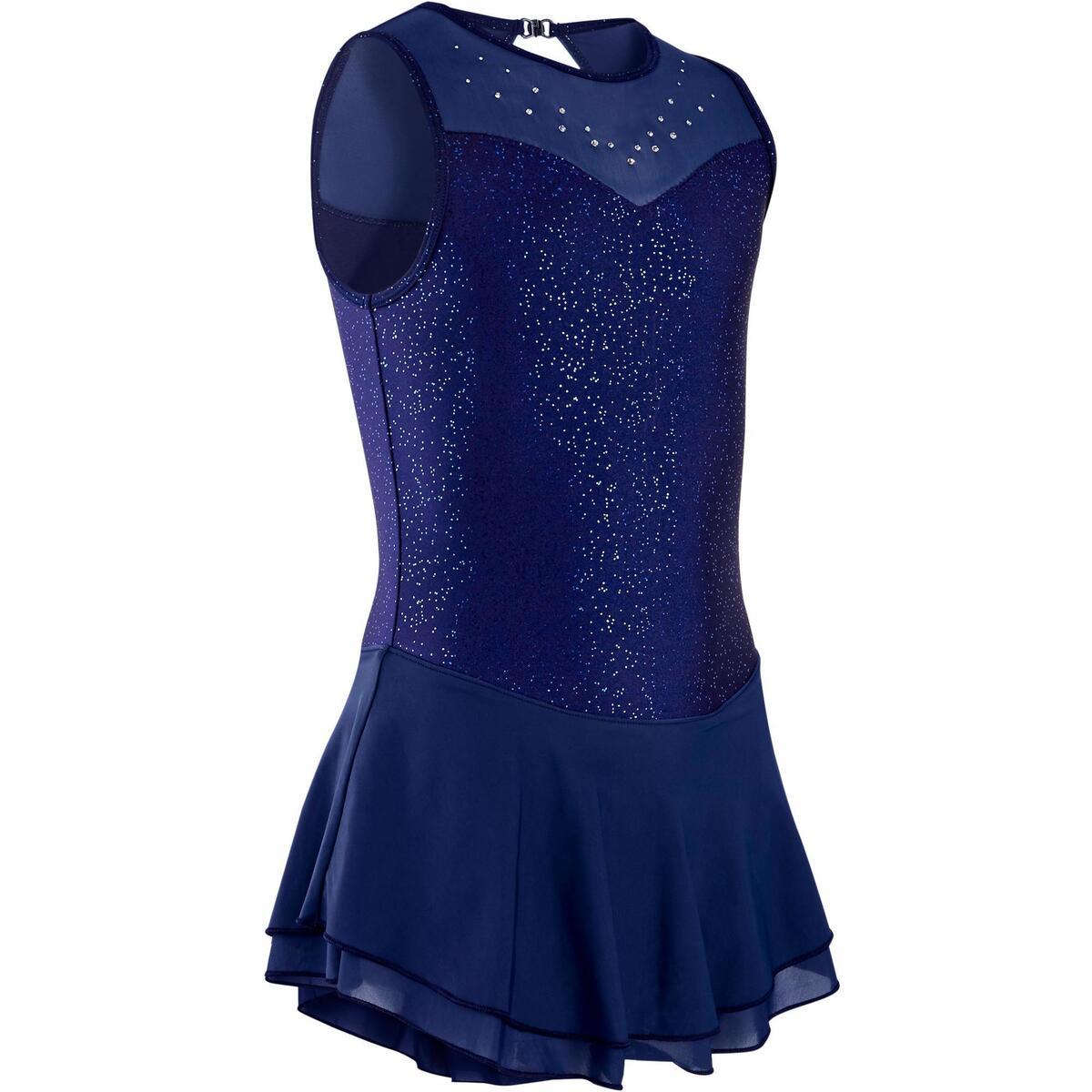 Bild 1 von Eiskunstlaufkleid Kinder nachtblau