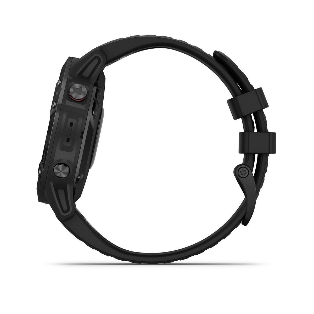 Bild 3 von GPS-Multisportuhr Fenix 6 Pro grau schwarzes Armband