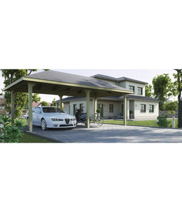 Weka Premium-Carport 651 Gr. 3