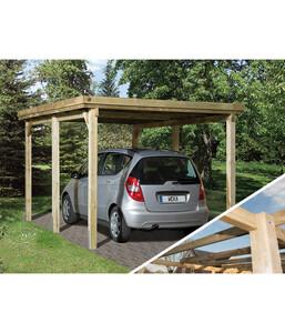 Weka Carport 617 Gr. 1, ohne Dachplatten