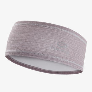 Lauf-Stirnband grau/violett