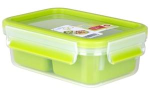 Emsa - Snackbox Clip & Go in hellgrün, 1,0 l