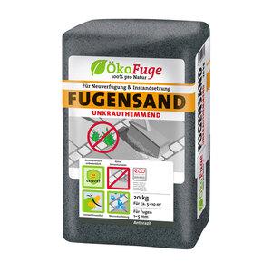 Fugensand, 1-5 mm, Anthrazit, unkrauthemmend, 20 kg