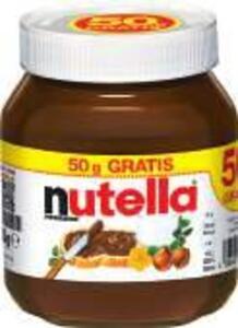 Nutella + 50 g gratis