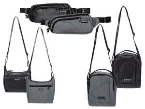 TOPMOVE® Taschen mit Diebstahlschutz, 2 Steckfächer mit RFID-Schutz