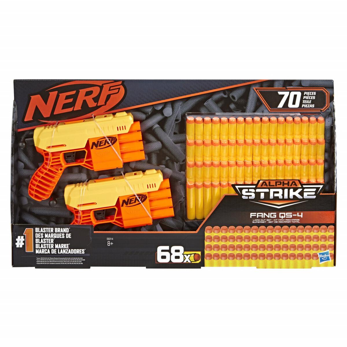 Bild 1 von Nerf Alpha Strike Fang Dart-Blaster