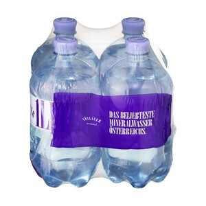Voeslauer Mineralwasser versch. Sorten, jede 4 x 1-Liter-Packung