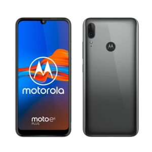 Motorola Moto E6 Plus grau Android 9.0 Smartphone