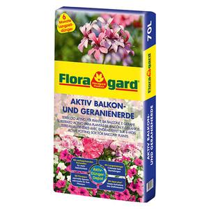 Floragard Balkon- & Geranienerde Aktiv