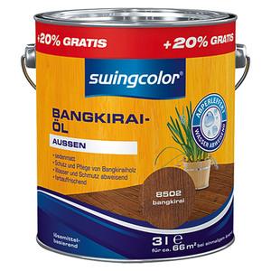 swingcolor Bangkirai-Öl