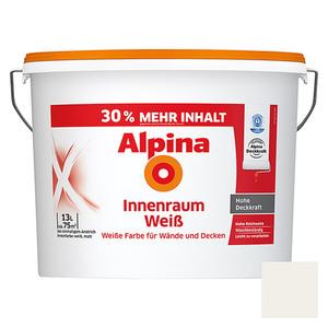 Alpina Wandfarbe Innenraumweiß 30 % mehr Inhalt