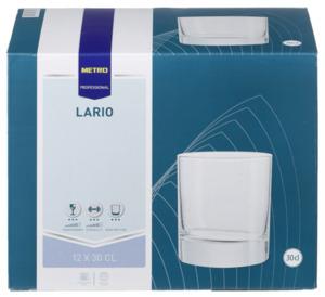 METRO Professional Whiskey Glas Lario, 30 cl, 12 Stück