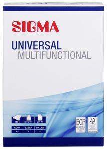 Sigma Kopierpapier Universal Multifunctional DIN A4 80 g/m² - 500 Blatt