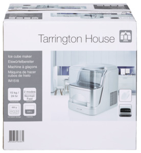 Tarrington House Eiswürfelbereiter IM1518, 15 kg, 150 W