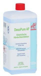 DesoPure AF alkoholische Hände Desinfektion 1000ml - Verpackung ähnlich, Bild kann abweichen