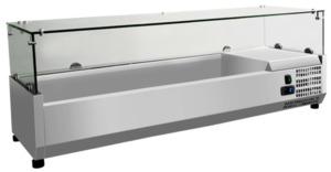 METRO Professional Aufsatzvitrine GHS1120, 120 cm