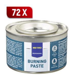 METRO Professional Brennpaste - 200 g Dose - 72 Stück