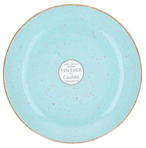 Böckling Vintage Dessertteller Hellblau 2,1 cm x Ø 21 cm
