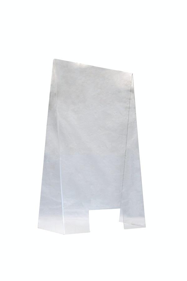 APS Hygieneschutzwand aus Acryl mit Öffnung 60cm x 28cm x 99cm