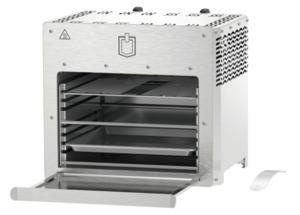 METRO Professional Oberhitze Grill 2-Brenner 42,5 x 42 x 36,6 cm