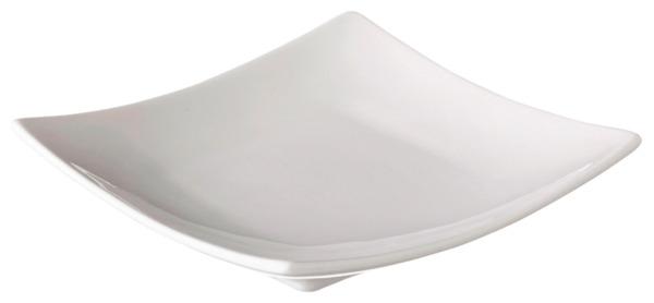 METRO Professional Fingerfood-Schalen eckig, Ø 9,2 cm, cremeweiß