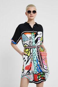 Arty Hemdblusenkleid