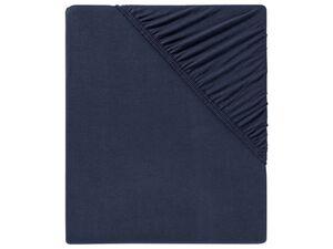 MERADISO® Spannbettlaken, 140-160 x 200 cm, mit Rundumgummizug, aus Baumwolle