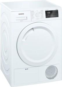 SIEMENS WT43H081 Wärmepumpentrockner (A+, 7 kg Fassungsvermögen, Wärmepumpe, Knitterschutz, outdoor, schnell, Display)