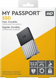 Western Digital My Passport SSD 512GB