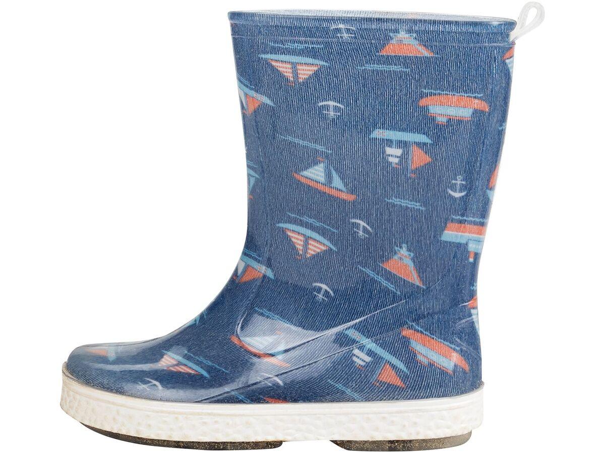 Bild 2 von LUPILU® Regenstiefel Jungen, mit Profil-Laufsohle, Einlegesohle, wasserdicht, UV-beständig