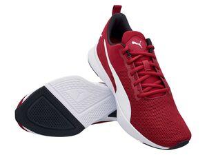 "Puma Sneaker Damen Herren ""Flyer Runner"" Rhubarb-Puma white"