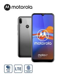 Smartphone Moto E6 Plus · Dual-Rückkamera (13 MP + 2 MP) · 8-MP-Frontkamera · 4-GB-RAM, bis zu 64 GB interner Speicher · microSD™-Slot bis 512 GB · nanoSIM · Android™ 9 · Bildschirmdiagon