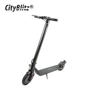 E-Scooter CB 075SZ - Motor: 250 Watt - Li-Ionen-Akku 36 V/7,8 Ah - Reichweite: bis zu 30 km - max. Geschwindigkeit: 20 km/h - max. Nutzergewicht: 120 kg - elektronische Bremse vorne und Scheibenbrems