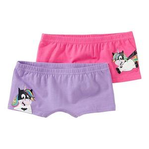 Mädchen-Panty mit coolem Aufdruck, 2er Pack