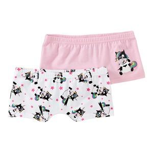 Mädchen-Panty mit Fledermaus-Einhorn, 2er Pack