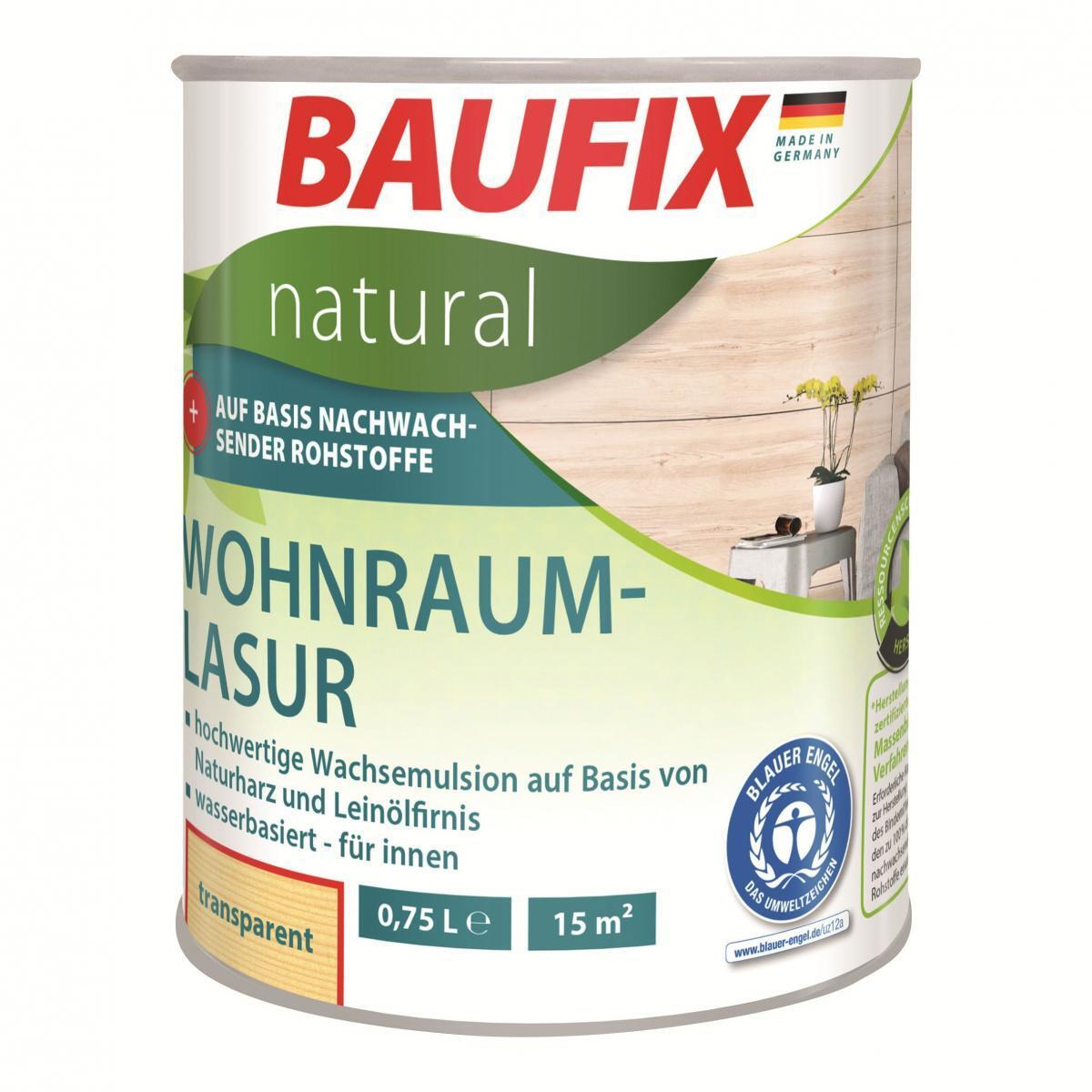Bild 1 von BAUFIX natural Wohnraumlasur transparent