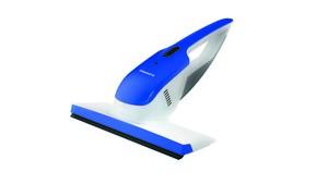 CLEANmaxx Akku-Fenster-Waschsauger 3,7V weiß/blau