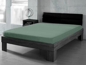 DREAMTEX Premium Jersey Spannbetttuch 140-160x200cm Farbe anthrazit