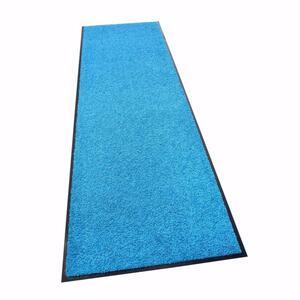 acerto® Schmutzfangmatte ZANZIBAR blau 60x120cm