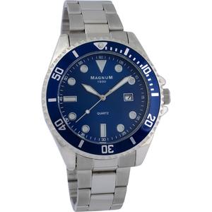 """Magnum 1930 Herren-Armbanduhr """"Classic"""" - Blau"""